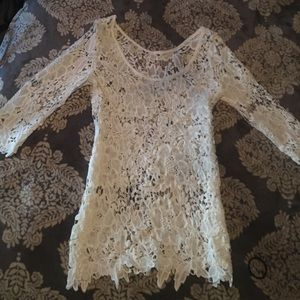 Tops - Gorgeous Sheer Lace Top NEW!